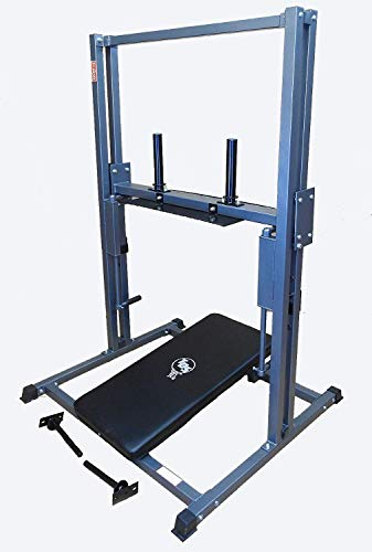 TDS Vertical Premier Leg Press Mc. Great for Flexibility/Strength of Low Back, Glutes, hamstrings & calve Raises. Carriage Mounted on 8 HD Rollers. 1000 lb Capacity