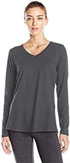 Danskin Women's Essential Long-Sleeve T-Shirt