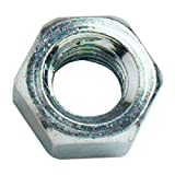 Bulk hardware BH03556 - Tuerca hexagonal de acero bzp m12 (paquete de 10)