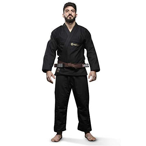 Kimono Jiu Jitsu Atama Trançado Classic - Preto-A3