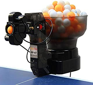 CNCEST HP-07 36 Different Spins Ping Pong/Table Tennis Robot Automatic Ball Machine Expert for Training USA Stock