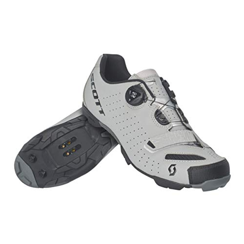 Scott Mens MTB Comp Boa Reflective Cycling Shoes - 270599-6224 (Reflective Black - 44)