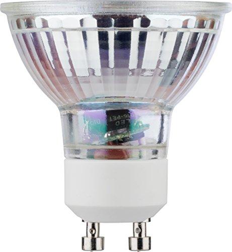 MÜLLER-LICHT 400282 A+, Retro-LED Reflektorlampe, ersetzt, Glas, 5 W, GU10, Silber, 5 x 5 x 5.3 cm
