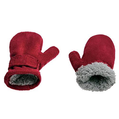 Moent Baby-Winterhandschuhe für Neugeborene, Mädchen und Jungen, Fleece, hält warm...