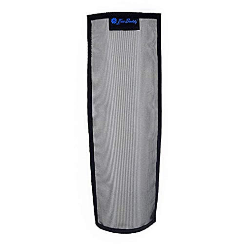 Pollentec Tower Fan Air Filter Effective Filtering Screen for Pollen, Dust, Mold Spores and Pet Dander Reusable Washable Design Compatible with Lasko 48 in. Xtra Air Tower fan Made in the USA