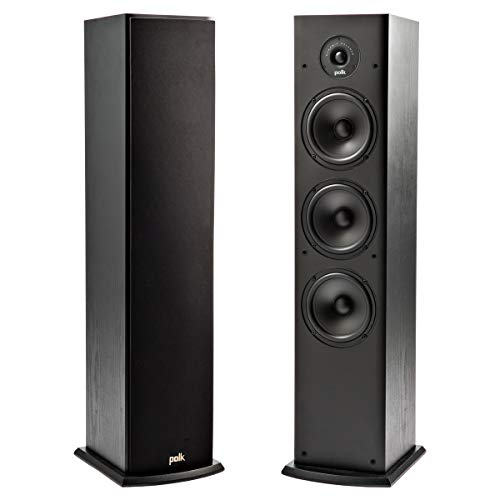 Check Out This Polk T50 150 Watt Home Theater Floor Standing Tower Speaker (Single) - Premium Sound ...