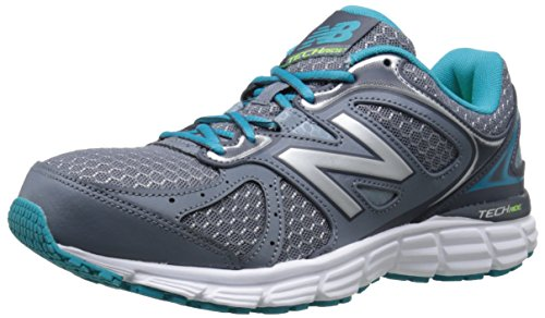 New Balance Women's W560V6 Run Shoe-W, Grey/Silver/Sea Glass, 7.5 D US