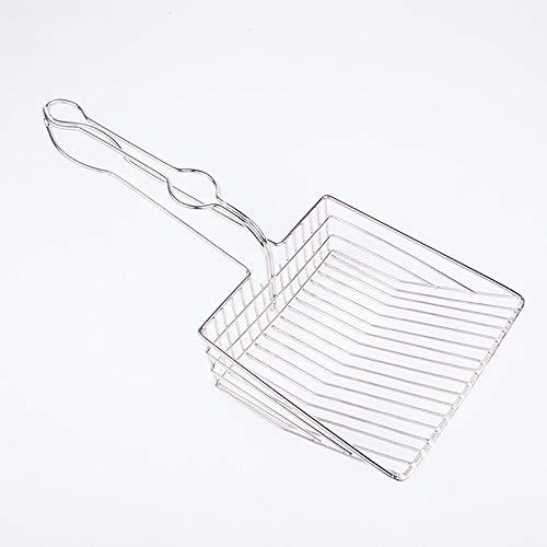 JFS Katzenstreuschaufel - Edelstahl Katzenstreuschaufeln Einfach zu reinigen