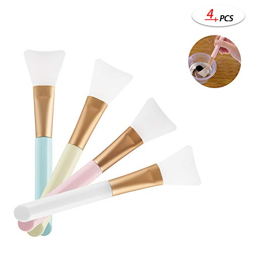 4 Pcs Magic Brushes for Making Epoxy Glitter Tumblers, Specially-Made Brushes DIY Tool to Mix and Apply Epoxy Resin Acrylic Cups, Very Easy to Clean