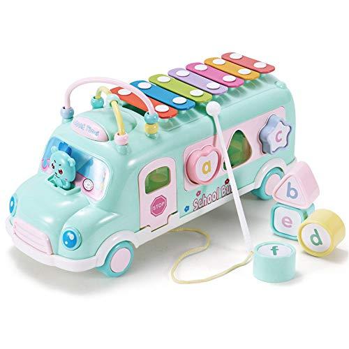 Sarahjers-Toys Multi-usages Cadeaux Jouets Perle Mazes Multifuncation Activité Jouets éducatifs Activité d'apprentissage précoce Cubes Jeux d'enfants Bead Maze Toy (Color : Green, Size : Free Size)