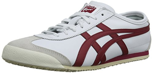 Onitsuka Tiger Zapatillas para Unisex adulto, Blanco (White/Burgundy 125), 45 EU