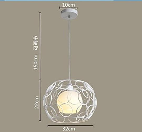 HEYUN& lustre-tête unique personnalité créative de lustre escalier moderne en verre minimaliste [Classe énergétique A ++] (Style   J)