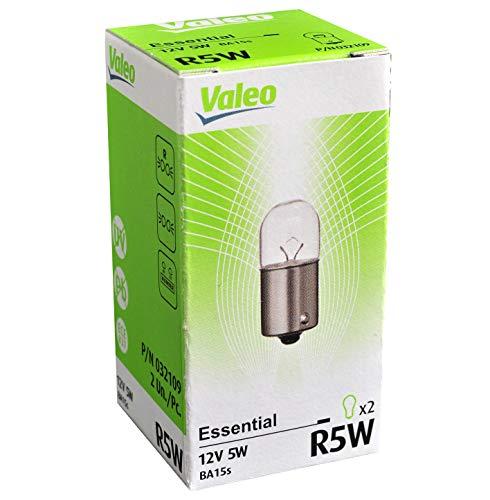 Valeo 032109-VAL Halogen Glühlampe, R5W-Essential-Cardboard x2, 32109, Set of 2