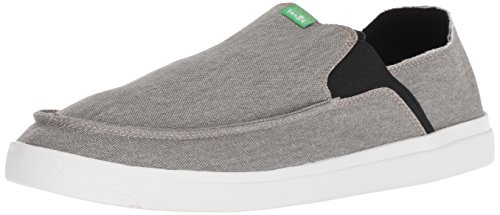 Sanuk Pick Pocket Slip-On Sneaker Grey 10