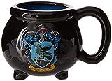 Silver Buffalo HP12083D Harry Potter House Ravenclaw Crest Cauldron Ceramic 3D Sculpted Mug, 20 oz