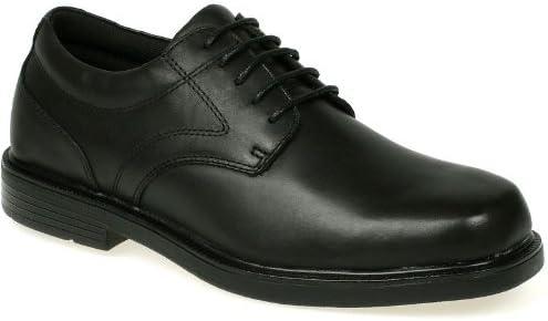 Nunn Bush Black Arthur Comfort Gel Oxford Dress Shoes - Men's 8.5M