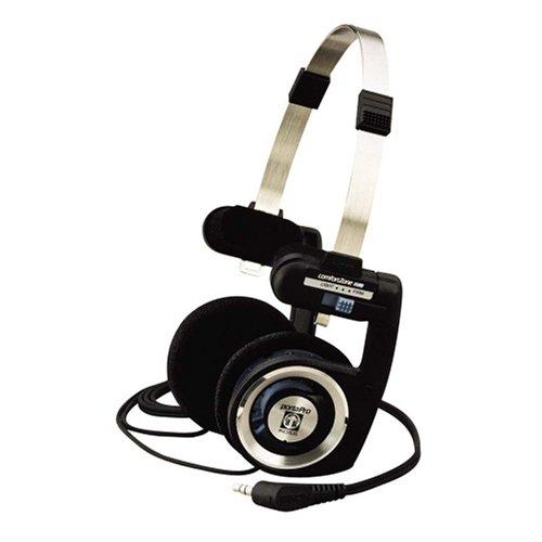 """Koss Casque stéréo """"PORTAPRO"""" (On-Ear, classic, casque à bandeau ouvert, avec fil de 1,2 m, 15 - 25000 Hz, jack 3,52mm mâle) Noir/Gris/Bleu"""