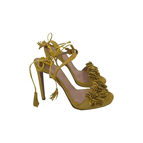 GAGLIOTTA Sandalo Alto con Frangia Giallo (40 EU)