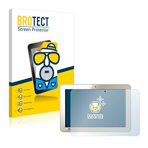 BROTECT 2X Entspiegelungs-Schutzfolie kompatibel mit Toshiba Encore 2 Write L9W-Bestellung Bildschirmschutz-Folie Matt, Anti-Reflex, Anti-Fingerprint