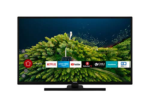 HITACHI H32E2100 80 cm (32 Zoll) Fernseher (HD Ready, Smart TV, Prime Video, Works with Alexa, Triple-Tuner, PVR)