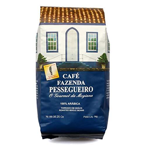 Café Fazenda Pessegueiro Torrado em Grãos 1Kg