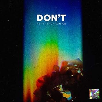 Don't (feat. Zach Crean)