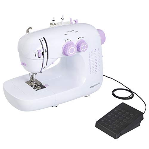 Amazon Basics – Máquina de coser doméstica de 42puntadas, con velocidad variable
