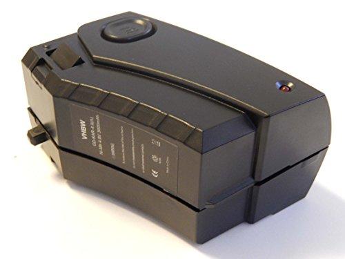vhbw Batería Recargable Compatible con Kärcher K55 Pet, K55 Pet Plus aspiradora, Robot de Limpieza (3000 mAh, 4,8 V, NiMH)