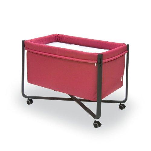 Cambrass Petit Berceau Urban - Liso E - 56,5 x 92 x 64,5 cm - Rouge / Noir