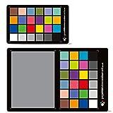 Neu für 2019. Die 3-in-1-Karte für Grauweißabgleich-Farbkarten