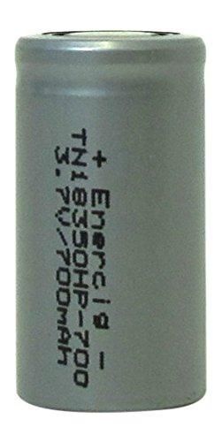 enercig Li-ION 3,6 V ungeschützte Format de Cellule 18350 700 mAh (20 C)