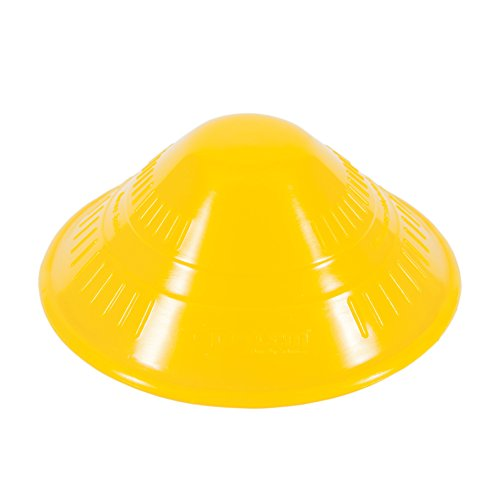 "Dycem Non-Slip Cone-Shaped Jar Opener, 4-1/2"" Diameter, Yellow by Dycem"