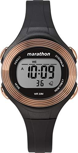 Timex Reloj Digital para Mujer de Cuarzo con Correa en Resina TW5M32800
