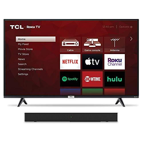 TCL 43' TV & Alto 3 Sound Bar