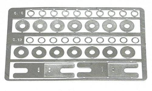 Slot.It PA47 Set d'Entretoise pour Moyeux et Douilles 0,1/0,25mm x10