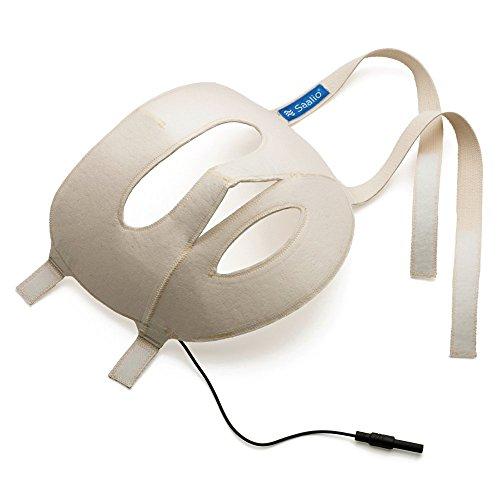 Saalio® Gesichtsmaske mit Graphitfasern (Ergänzung für Saalio® DE Iontophorese)
