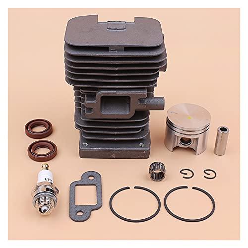 Kit de reconstrucción del motor del cilindro de 38 mm para S-TIHL MS180 MS170 MS 180 170 018 017 Piezas de Motor de Motosierra de Gasolina 10mm Pin (Color : CHINA)