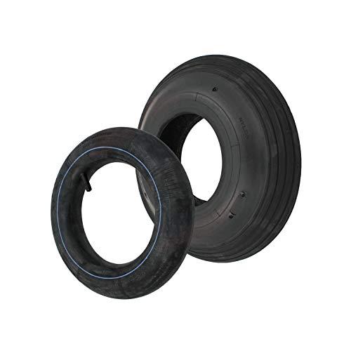 Set Reifen/Decke + Schlauch 4.00-6 355 x 100 mm Sackkarrenräder Sackkarre