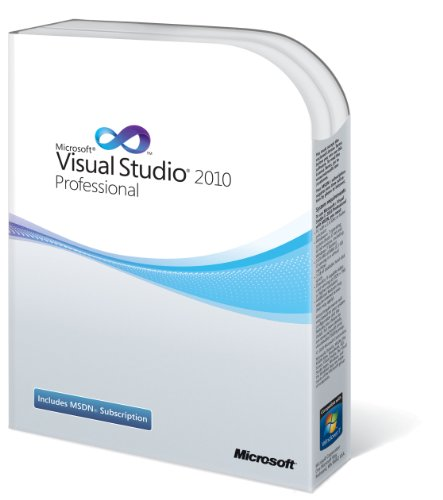 Microsoft Visual Studio 2010 Professional English 1 License