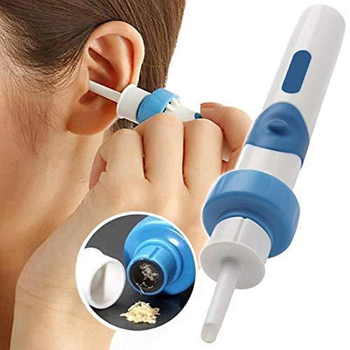 FMOGE Limpiador automático Seguro para los oídos, Dispositivo de succión de Cera...