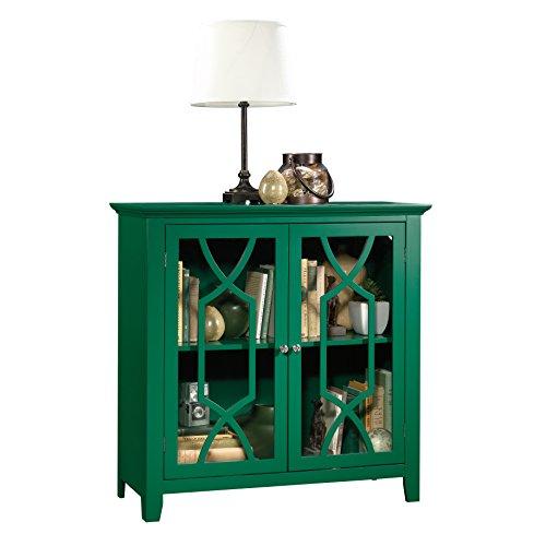 "Sauder 420127 Cabinet, 35.984"" L X 15.748"" W X 35.945"" H, Green Pantone"