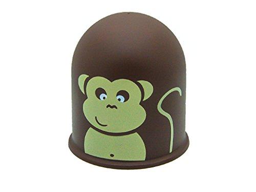 Schutzkappe Anhängerkupplung Abdeckkappe Abdeckung Jungle Tropenwald Affe Monkey