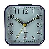 Ouken Réveil Creative carrée Petite Horloge Multi-Fonction Alarme silencieuse...