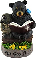 World of Wonders - Golden Rules Series, No. 1 - Put God First - Ten Commandments Bears Collectible Figurine, 6-inch
