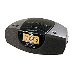 Timex T276B Stereo Clock Radio (Nature and Bell Sounds, Auto-Set) (Discontinued by Manufacturer)