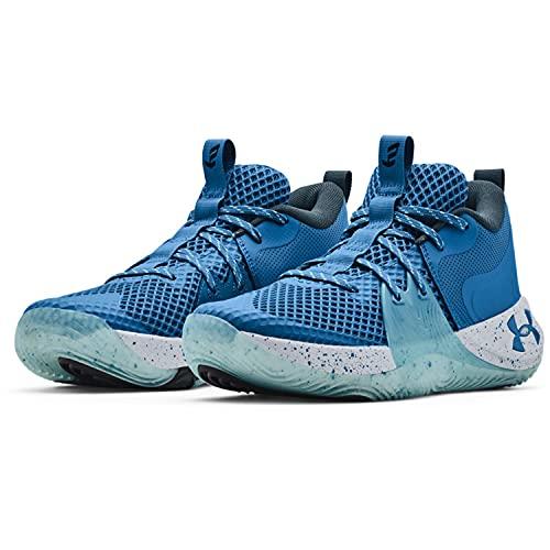 Under Armour Zapatillas de baloncesto Embiid 1 para hombre, azul (Viral Blue/Skylight), 44 EU