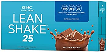 12-Pack GNC Total Lean Swiss Chocolate Shake
