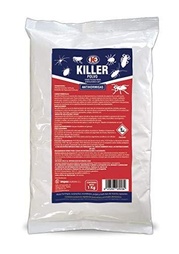 IMPEX EUROPA Antihormigas Killer Polvo insecticida para espolvoreo - 1 kg