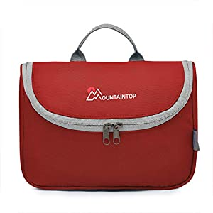 Mountaintop Hanging Travel Toiletry Bag