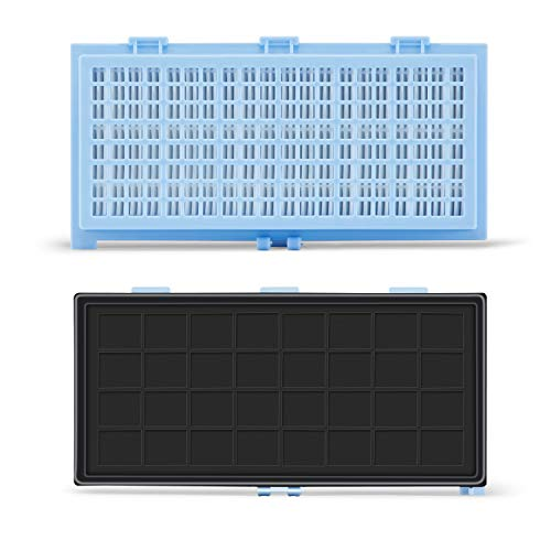 2x Supremery HEPA Filter komp. zu Miele SF-HA 30 Staubsaugerfilter für S8000 S6000 S5000 S4000 Serien Complete C2 C3 Compact C1 C2 S8340 S6240 S5211